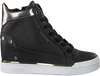 Schwarze GUESS Sneaker FINLY  - small