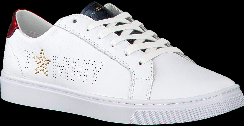 Weiße TOMMY HILFIGER Sneaker TOMMY STAR METALLIC SNEAKER - Jetzt im ... b7910a0377
