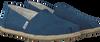Blaue TOMS Espadrilles ALPARGATA W - small