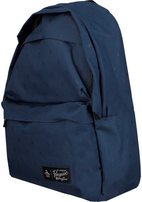 Blaue ORIGINAL PENGUIN Rucksack CHATHAM AOP PETE BACKPACK - large