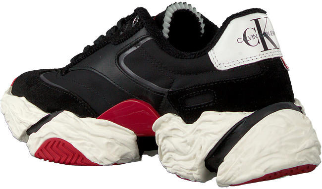 Schwarze CALVIN KLEIN Sneaker low SIGMA  - large