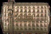 Goldfarbene GUESS Handtasche MATRIX CNVRTBLE XBODY BELT BAG  - medium