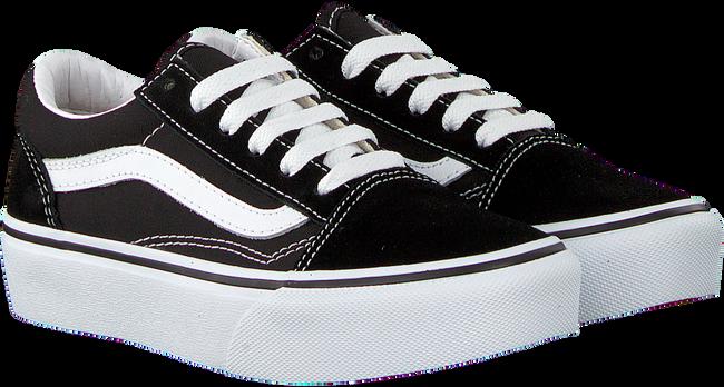 Schwarze VANS Sneaker UY OLD SKOOL PLATFORM KID  - large