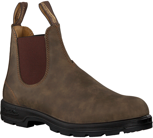 Braune BLUNDSTONE Chelsea Boots CLASSIC HEREN  - large