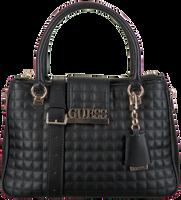 Schwarze GUESS Handtasche MATRIX LUXURY SATCHEL  - medium