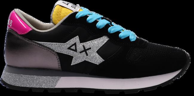 Schwarze SUN68 Sneaker low ALLY STAR GLITTER LOGO W  - large