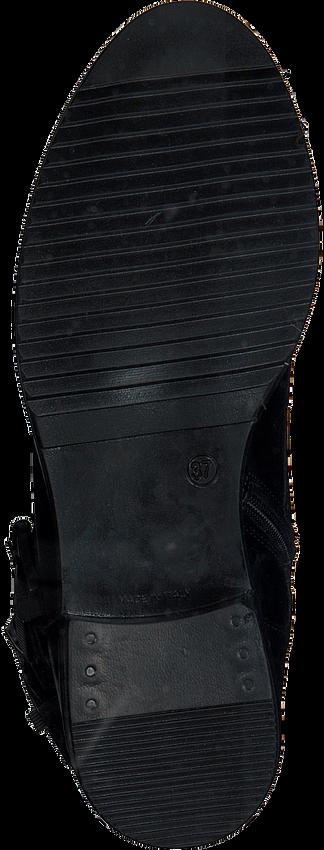 Schwarze OMODA Biker Boots 182K SOLE KIRA - larger