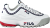 Weiße FILA Sneaker low DISRUPTOR KIDS  - small