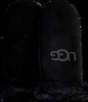 Schwarze UGG Handschuhe SHEEPSKIN LOGO MITTEN  - medium