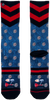 Mehrfarbige/Bunte XPOOOS Socken BARNEY  - small