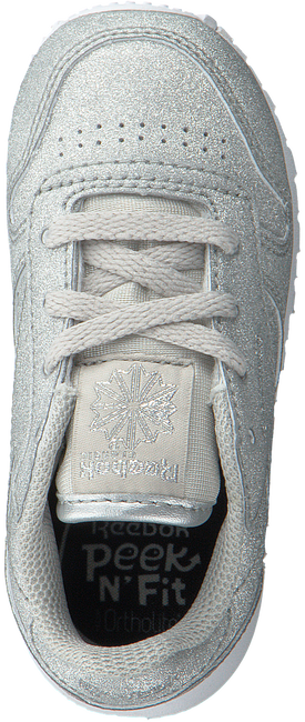 Silberne REEBOK Sneaker CL LEATHER KIDS - large