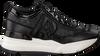 Schwarze RUCOLINE Sneaker 4041 FERRER MIRROR  - small