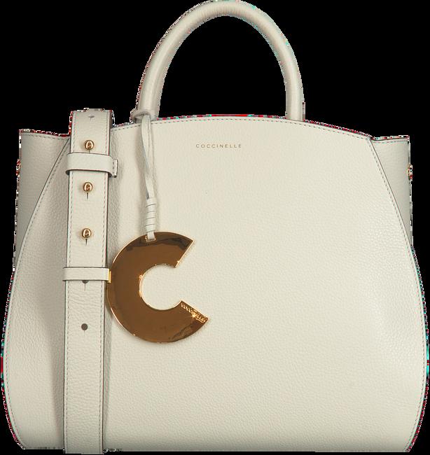 Graue COCCINELLE Handtasche CONCRETE 1801  - large