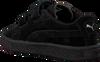 Schwarze PUMA Sneaker SUEDE 2 STRAPS - small