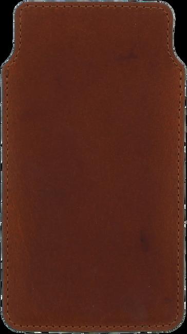 Cognacfarbene OMODA Handy-Schutzhülle TELEPHONE CASE - large