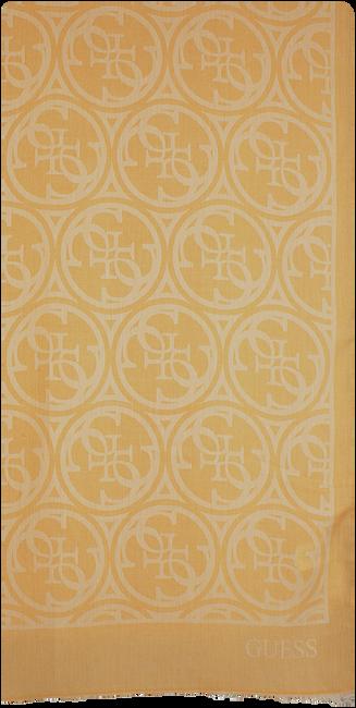 Gelbe GUESS Schal HERITAGE POP SCARF  - large