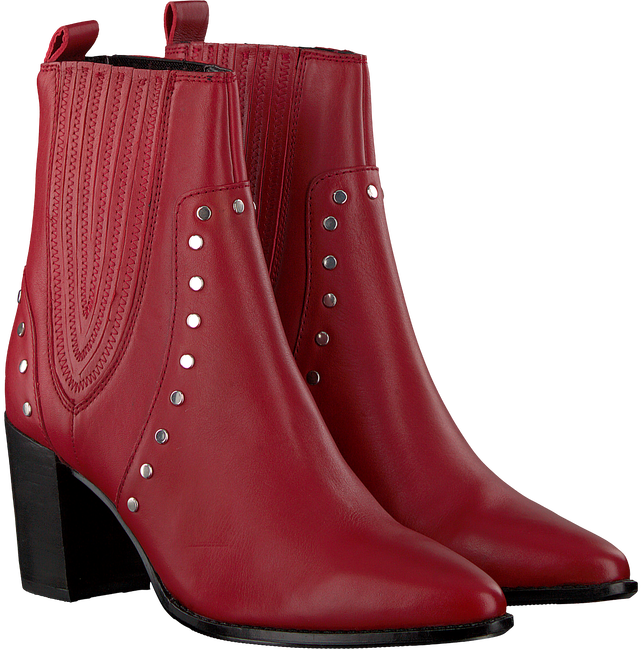 Rote BRONX Stiefeletten 33999 - large