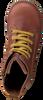 Cognacfarbene SHOESME Schnürschuhe DE9W093  - small