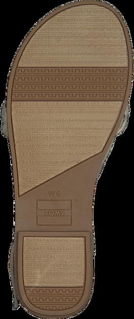 Weiße TOMS Sandalen LEXIE 10013455  - large