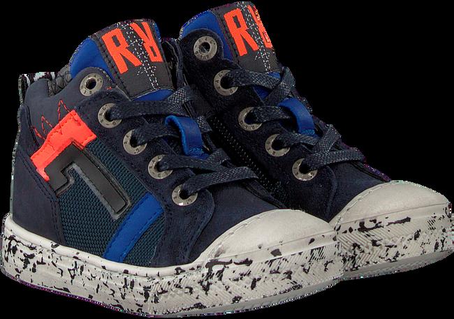 Blaue RED-RAG Sneaker 13327  - large