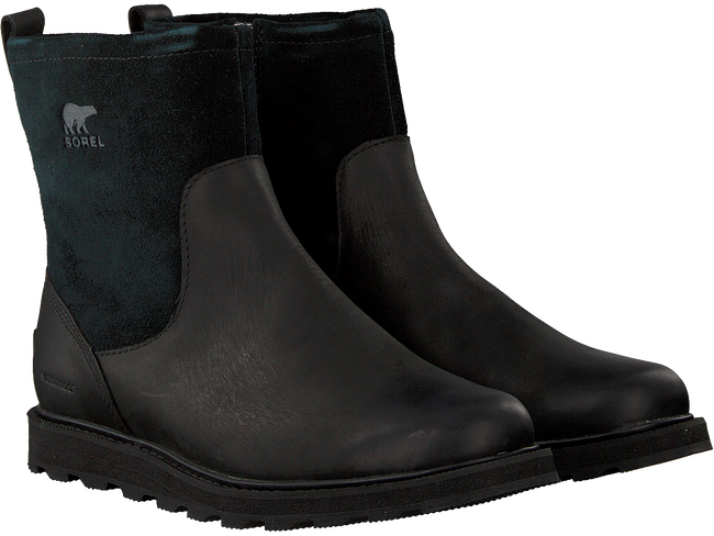 Schwarze SOREL Ankle Boots MADSON ZIP WP - large