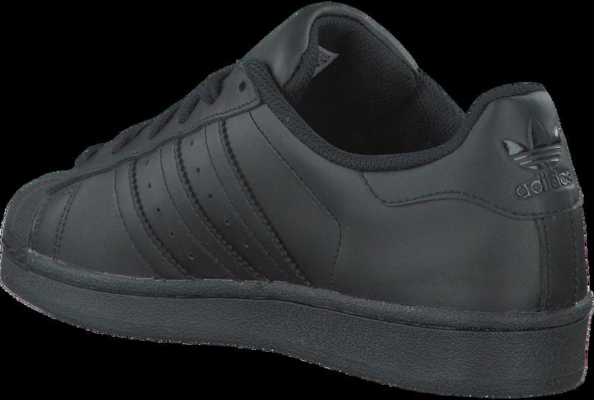 Schwarze ADIDAS Sneaker SUPERSTAR KIDS - larger