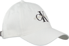 Weiße CALVIN KLEIN Kappe J MONOGRAM CAP M  - small