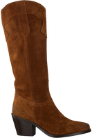 Cognacfarbene RED-RAG Hohe Stiefel 77004  - medium