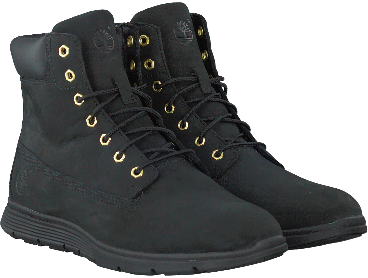 Schwarze TIMBERLAND Ankle Boots KILLINGTON 6 IN DAMES