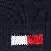 Blaue TOMMY HILFIGER Mütze BIG FLAG BEANIE  - small