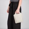 Weiße MYOMY Handtasche CARRY BAGGY - small