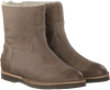 Taupe SHABBIES Ankle Boots 202075 - small