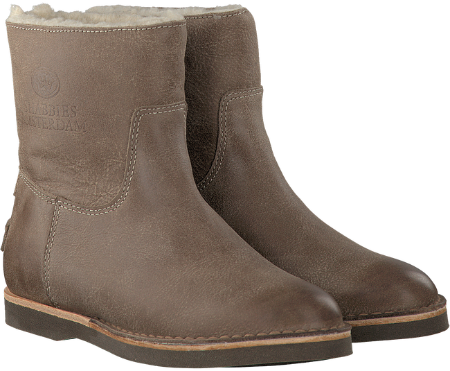 Taupe SHABBIES Ankle Boots 202075 - large