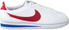 Weiße NIKE Sneaker CLASSIC CORTEZ LEATHER WMNS - small