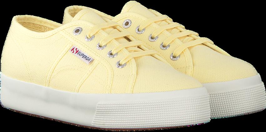 Gelbe SUPERGA Sneaker 2730 COTU  - larger