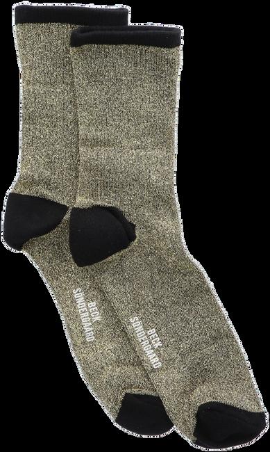 Goldfarbene BECKSONDERGAARD Socken DINA SOLID  - large