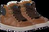 Cognacfarbene OMODA Sneaker high OM120717  - small