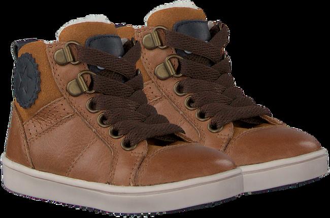 Cognacfarbene OMODA Sneaker high OM120717  - large