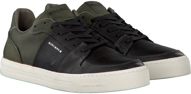 Schwarze BJORN BORG Sneaker MONTANA MID PULL M - large