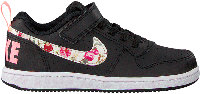Schwarze NIKE Sneaker COURT BOROUGH LOW (GS)  - large