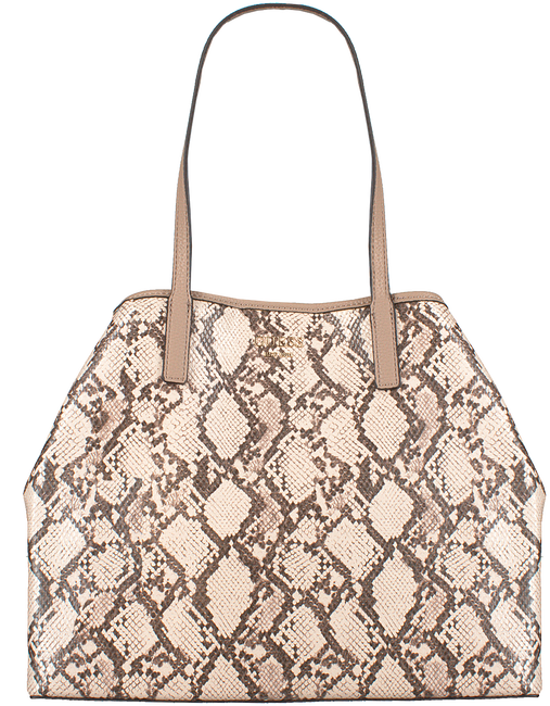 Beige GUESS Handtasche VIKKY LARGE TOTE  - large