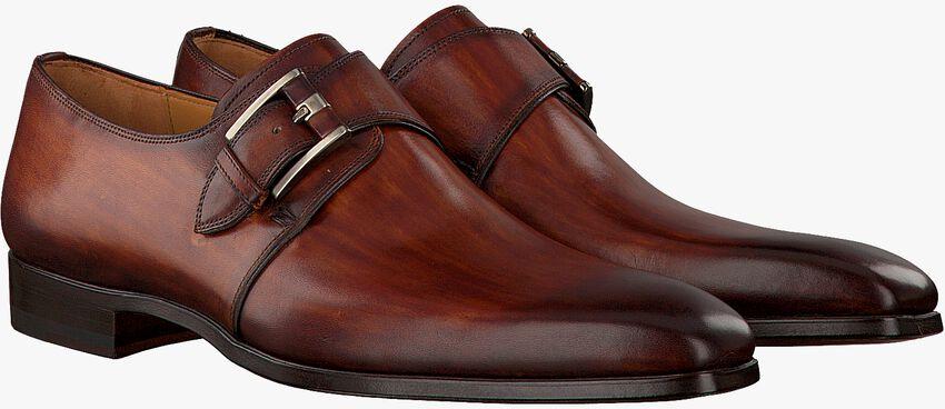 Cognacfarbene MAGNANNI Business Schuhe 16608 - larger
