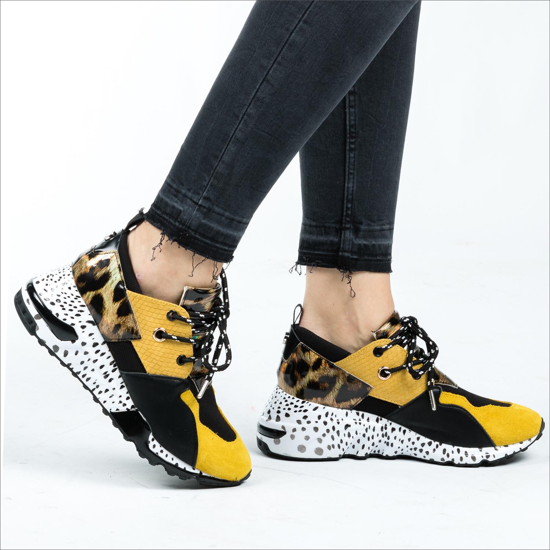 cf7c5bc15c Gelbe STEVE MADDEN Sneaker CLIFF SNEAKER - Omoda.de