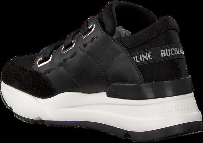 Schwarze RUCOLINE Sneaker 4074 NATURE LYCRA  - large