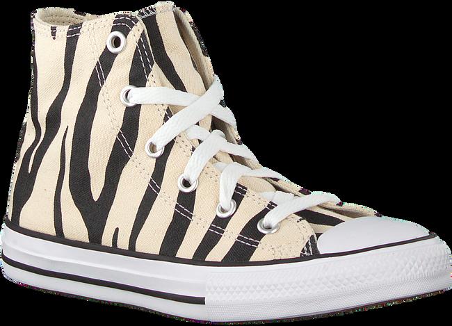 Beige CONVERSE Sneaker CHUCK TAYLOR HI KIDS  - large