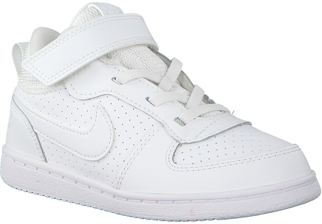 Weiße NIKE Sneaker COURT BOROUGH MID (KIDS)  - large