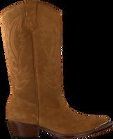 Cognacfarbene TORAL Hohe Stiefel TL-10964  - medium
