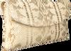 Silberne PETER KAISER Clutch WINEMA  - small