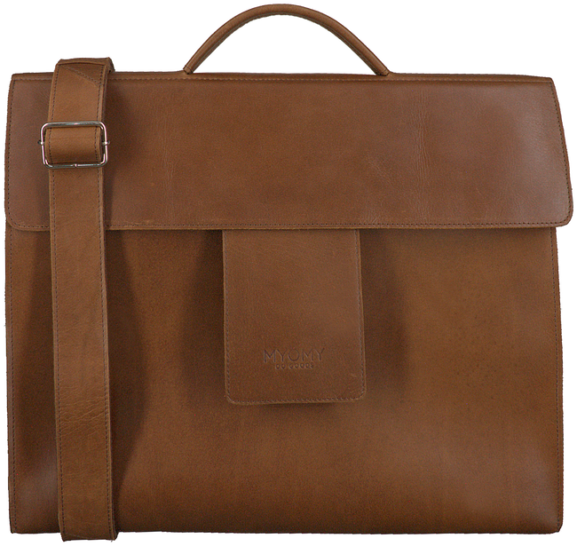 Braune MYOMY Laptoptasche BUSINESS BAG  - large