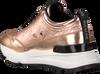 Goldfarbene RUCOLINE Sneaker 4041 FERRER MIRROR  - small
